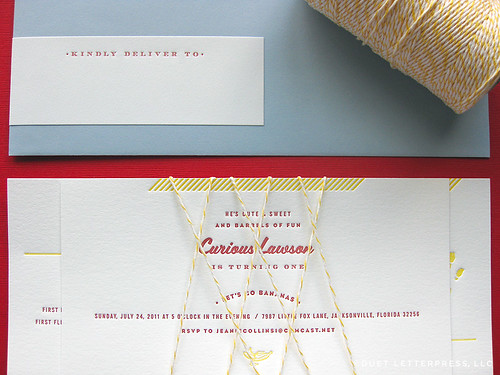 curious lawson invitations