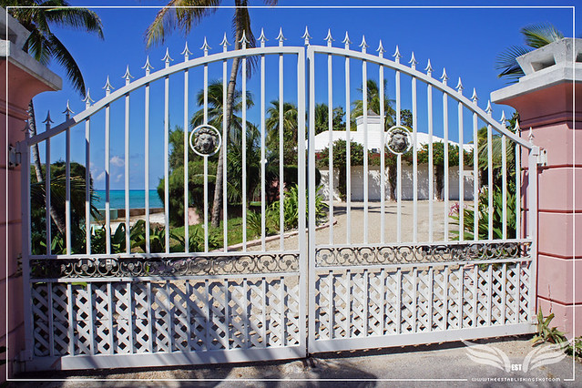 The Establishing Shot: James Bond Thunderball Film Location - Emilio Largo's Palmyra Estate - Rock Point, New Providence Island, Bahamas