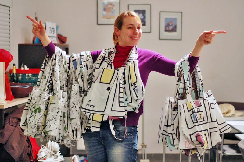 Geraldine showt 40 tassen