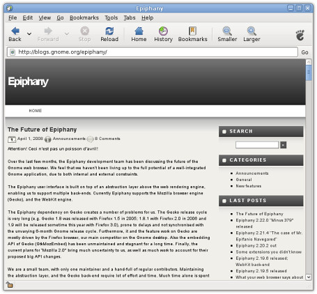 Install Epiphany web browser 3 3 4 on Ubuntu/Linux Mint