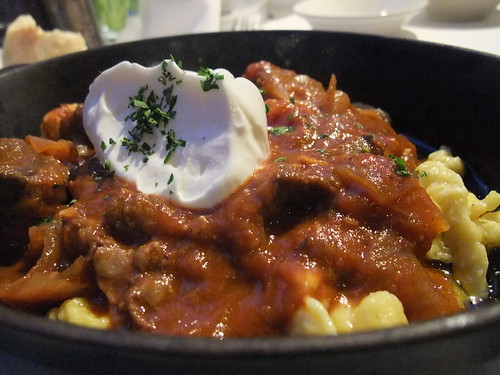 Hungarian Goulash @ Spagio