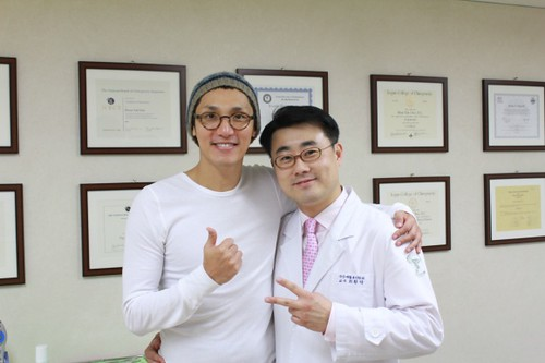 탤런트 곽승남씨와 함께 (Ideal Wellness Chiropractic Center)