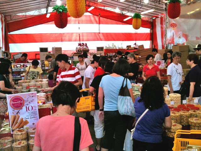 CNY Sale Tent at 23 Woodlands Link
