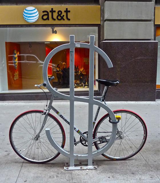 Wall Street Bike Rack
