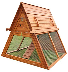 Portable Chicken Coop for 3 to 5 Hens by Handcrafted Coops