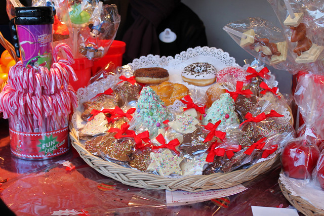 Special Christmas sweet treats at Belle's Christmas Village