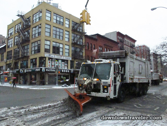 NYC Snowstorm East Village Jan 2012_Snow Plows
