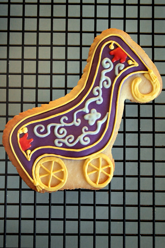 Aladdin Magic Carpet Stroller cookie.