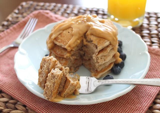 how to make pancakes with plain flour