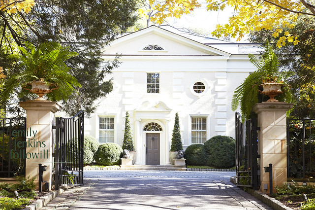 Charming The Setting For This 1930s Georgian Revival House Is Truly Idyllic;  Positioned On One Of Atlantau0027s Most Prestigious Streets, The Entrance Is  Lined By An ...