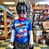 Batman stopped by @FoodFanta today! Super cute!