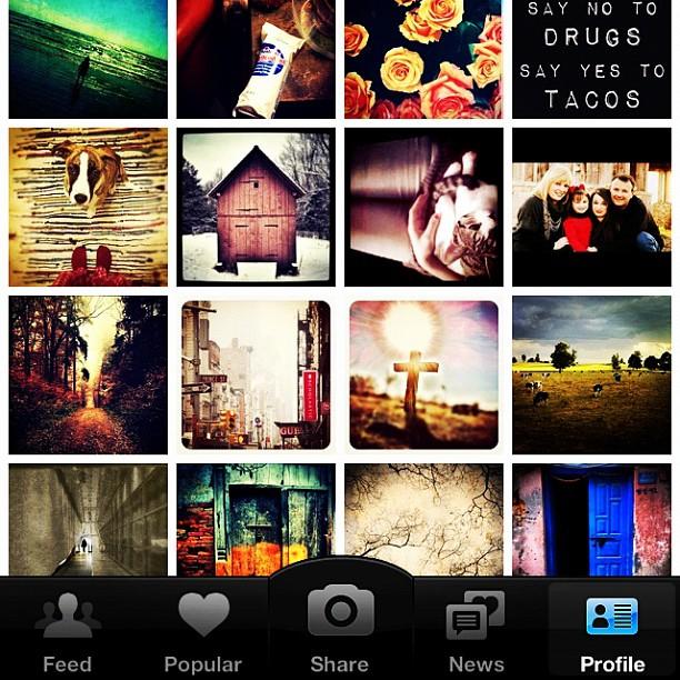 Guilty pleasure: #instagram
