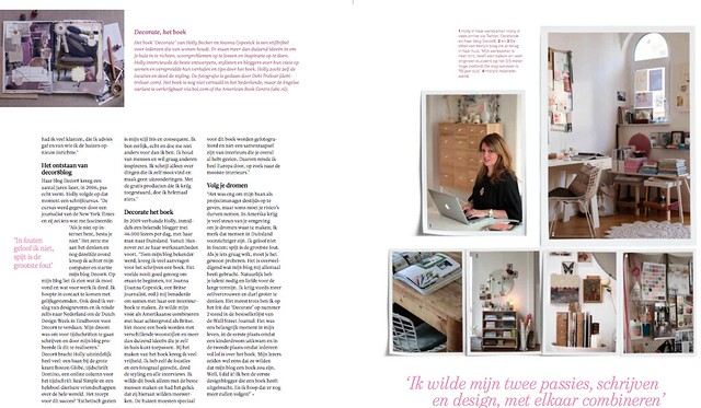 Me in 101 Woonideeen magazine