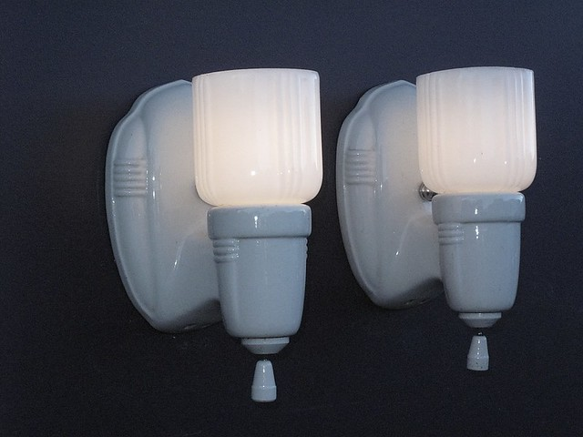 Vintage Wall Sconces Bathroom : Antique Bathroom Wall Sconces Vintage bathroom wall lamps vintagelights.com Flickr - Photo ...