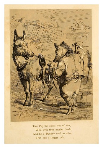 011-Five little pigs (1866)- Henry Louis Stephens