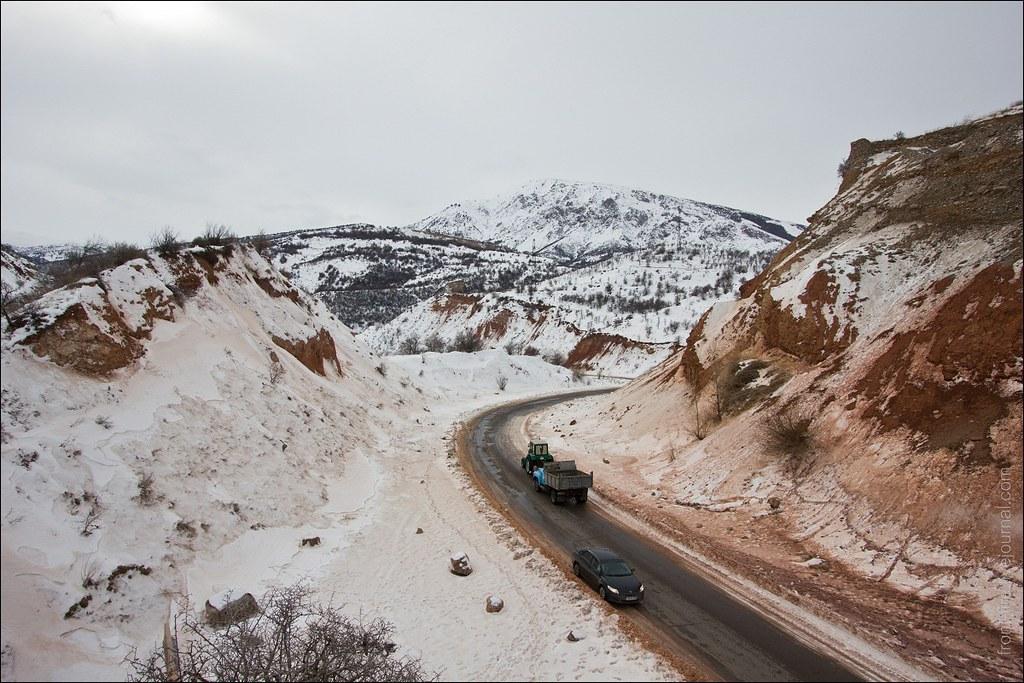 Дорога Узбекистан