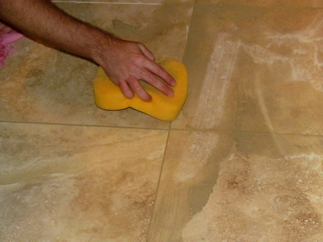 Cleaning the Tile