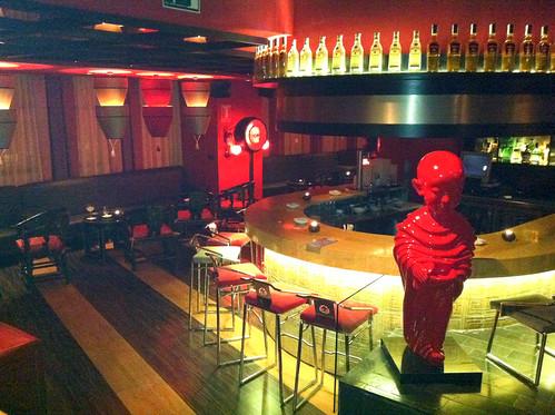 Lounge para copas