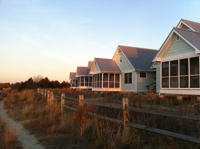 Cottages at Sunrise