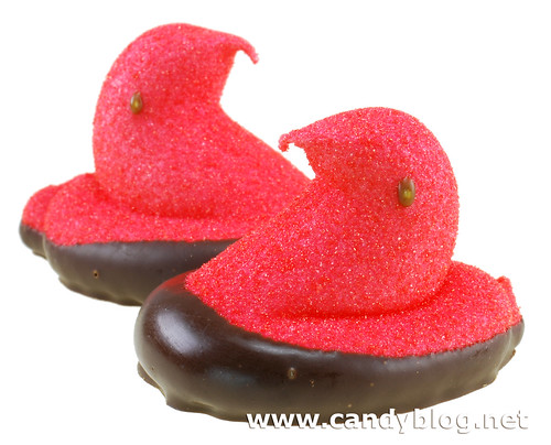 Peeps Strawberry Creme dipped in Dark Chocolate
