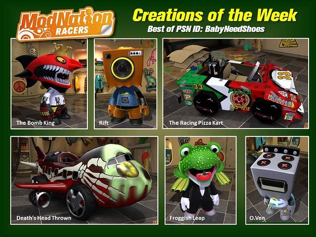 PS Vita: ModNation Racers: Road Trip - Creations of the Week