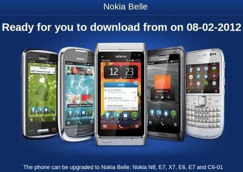Nokia Belle update Vietnam
