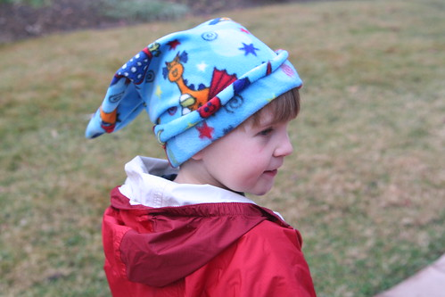 Mama-made Dragon Hat