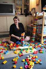Duplo with Mummy