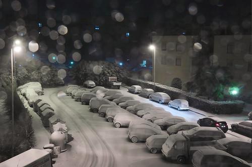 ...scende giù la neve..