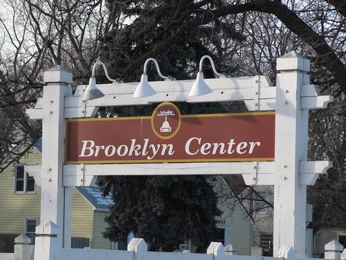Brooklyn Center Sign