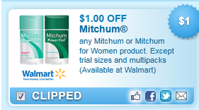 Mitchum Coupon