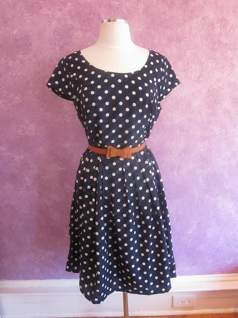 Ellie Dot Dress