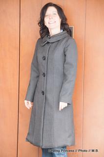 Michele 60s-style coat