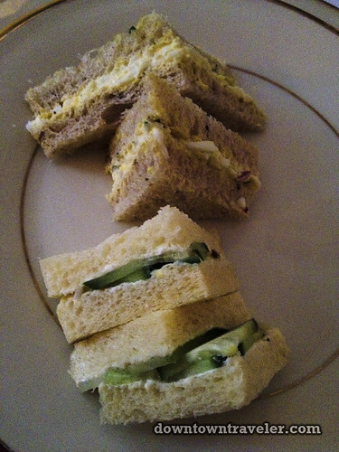 Lady Mendls Tea Salon NYC finger sandwiches