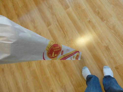 Cuban bread from La Segunda Bakery