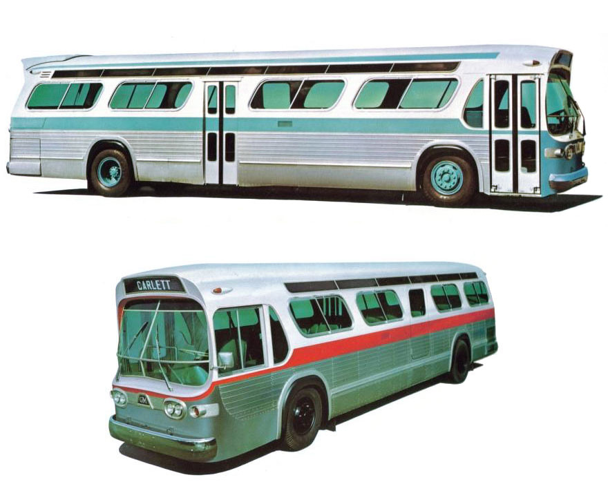 "GM's ""New Look"" Bus"