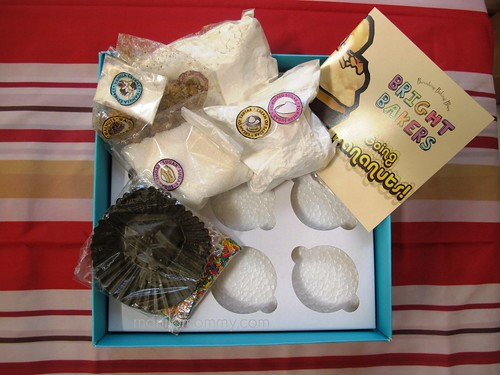 bright bakers cupcake kit