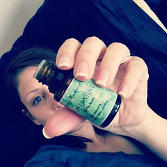 #ditl nap attack! Am attempting to defeat headache with peppermint oil. Sweet minty dreams!