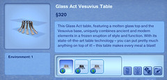 Glass Act Vesuvius Table