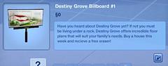 Destiny Grove Billboard #1