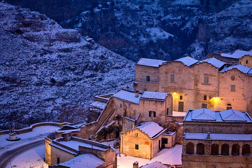 6836914167 c19497b4b2 Lessenza della bellezza unesco snow neve matera foto flickr