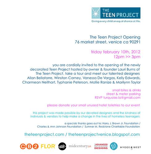 Teen Project Venice