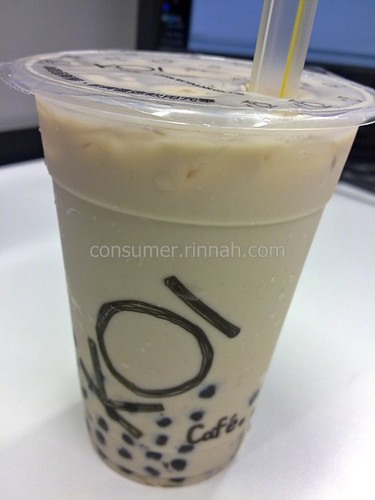 koi bubble milk tea