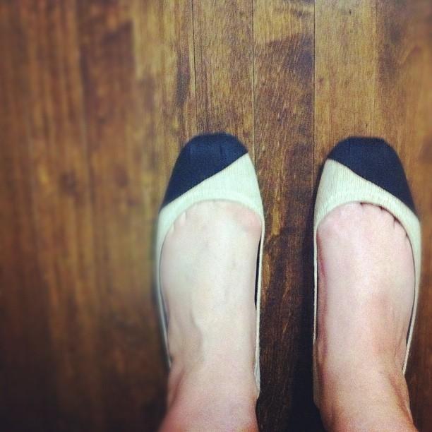 My new Toms Ballet Flats
