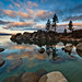 Lake Tahoe Winter Sunrise by Jeffrey Sullivan