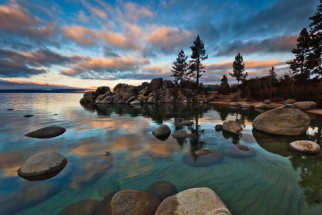 Lake Tahoe Winter Sunrise