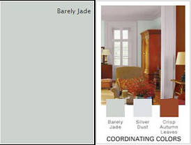 Glidden-Barely-Jade-Paint-color-and-coordinating-colors