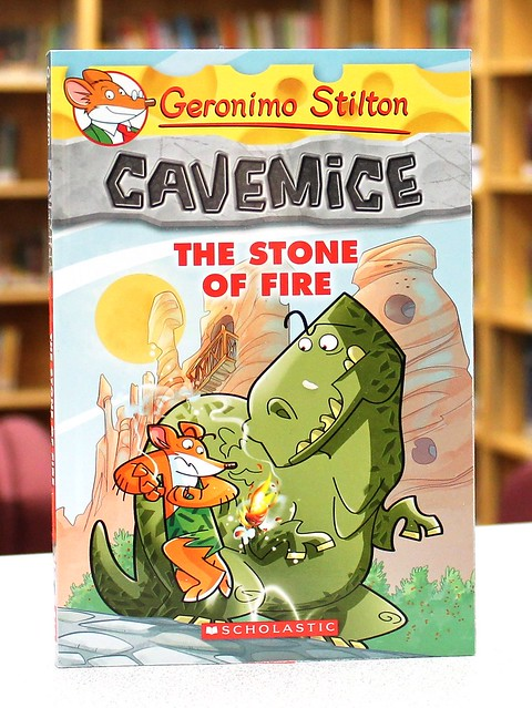 the stone of fire author geronimo stilton illustrators