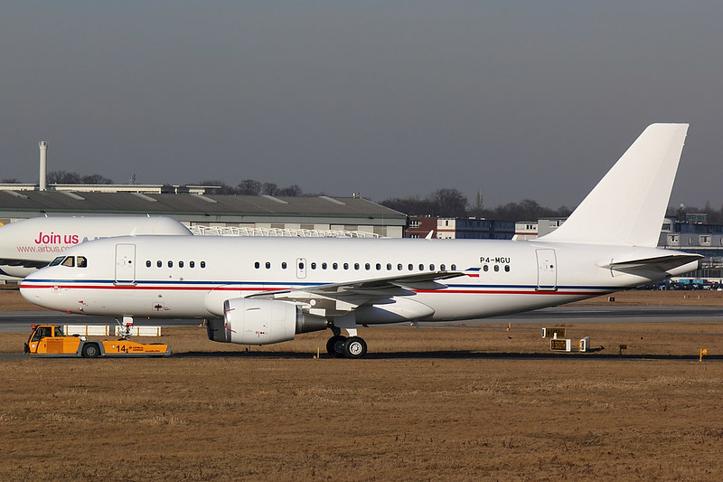 Privat - A319 - P4-MGU (1)