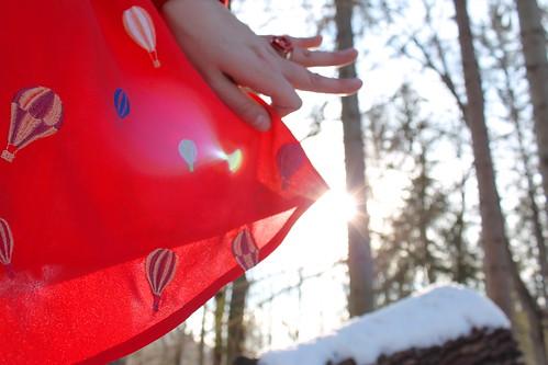 hot air balloon dress